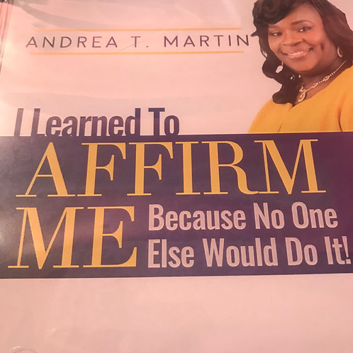 The Discovering My Wings Affirmation CD