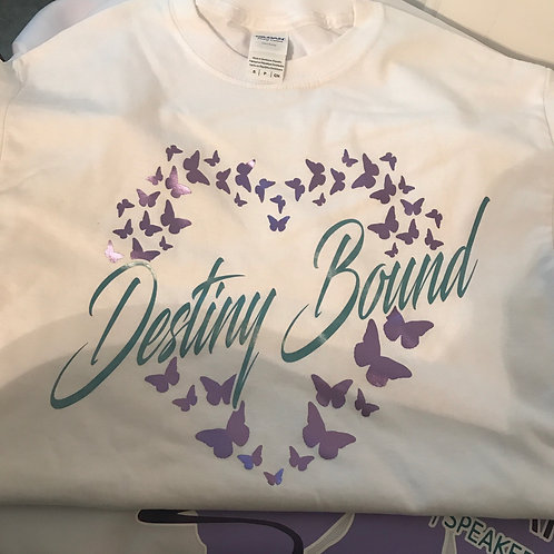 Destiny Bound White Tee