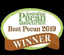 APA_Competition Badge_Best Pecan 2019_PN