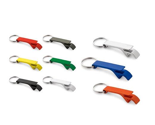 מחזיק מפתחות לעסק עם פותחן