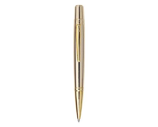 עט כדורי בציפוי זהב