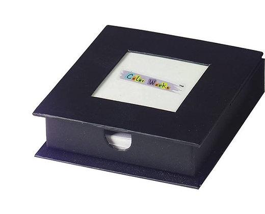 קופסא לניירות ממו בכריכה קשה