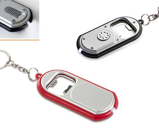 מחזיק מפתחות עם פותחן בקבוקים ולד