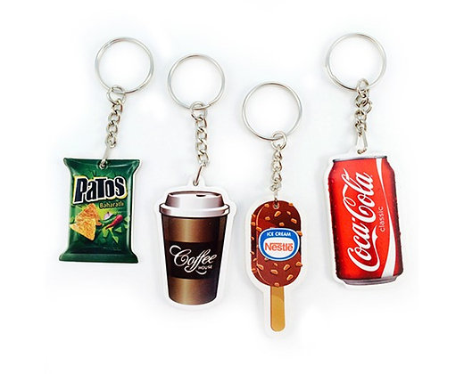 מחזיק מפתחות צורני מפלסטיק