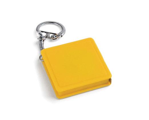 מחזיק מפתחות עם מד מטר
