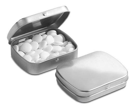 קופסת סוכריות מלבנית ממותגת