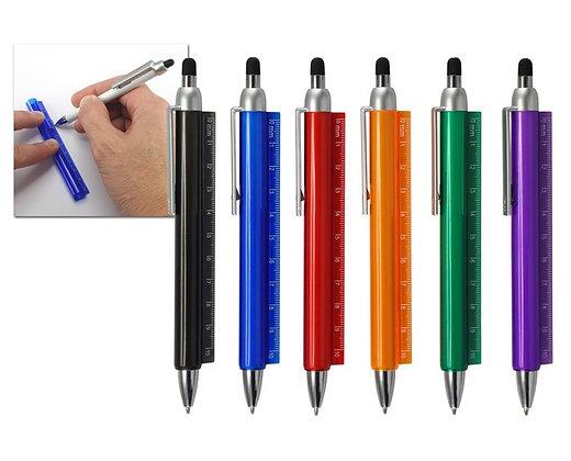 עט סרגל שקוף נשלף