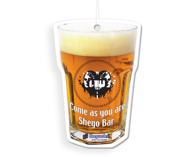 ריחנית בצורת כוס בירה