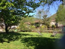 Gîte maison Marinette - Le jardin ensoleillé
