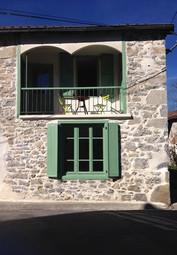 Gîte Maison Marinette à Arbas - Façade avec balco