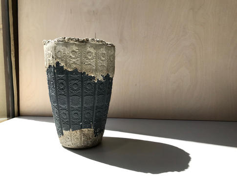 váza FRAGMENT BLACK