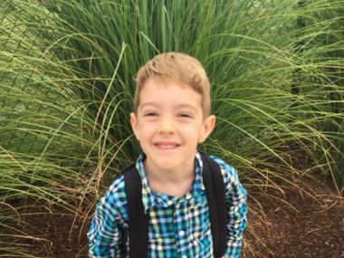 Ezra Hurwitz, 1st Grader