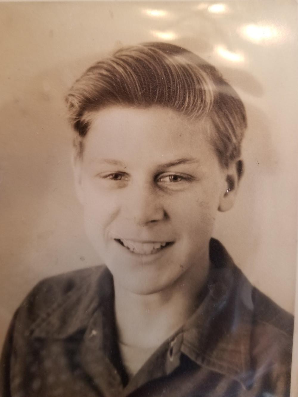Dad at 14
