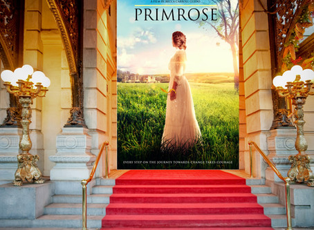 Veronica's #WritersDiary, Behind the Scenes with Primrose Film Creator Becky Guido!