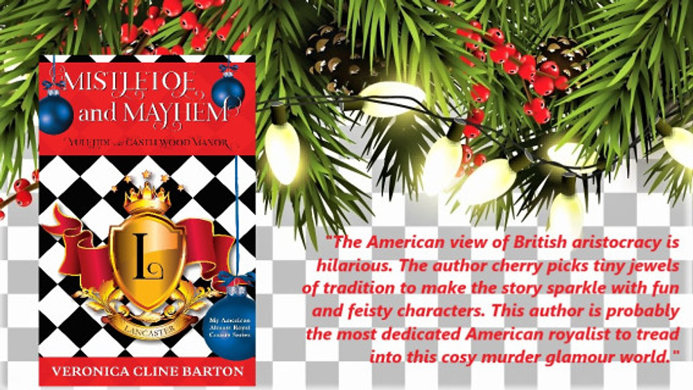 Book review comment for Mistletoe and Mayhem Feb 2020