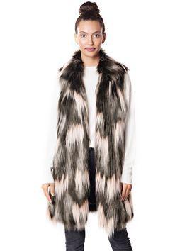 donna salyers fabulous furs 2018 vest
