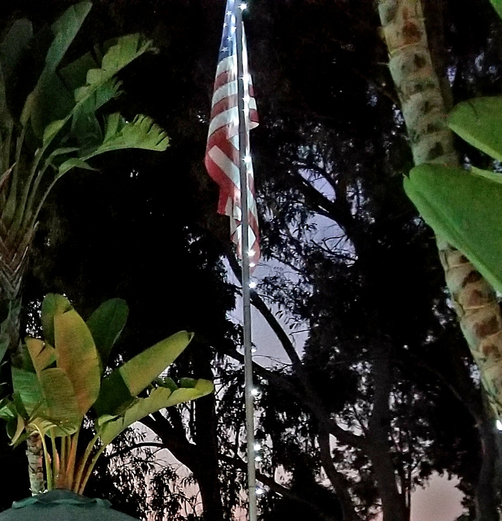 Flag sept 11 tribute