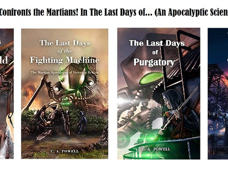 Veronica's #WritersDiary: The Last Days (of Martians) Continues; a Chat with #Author Colin Powell!