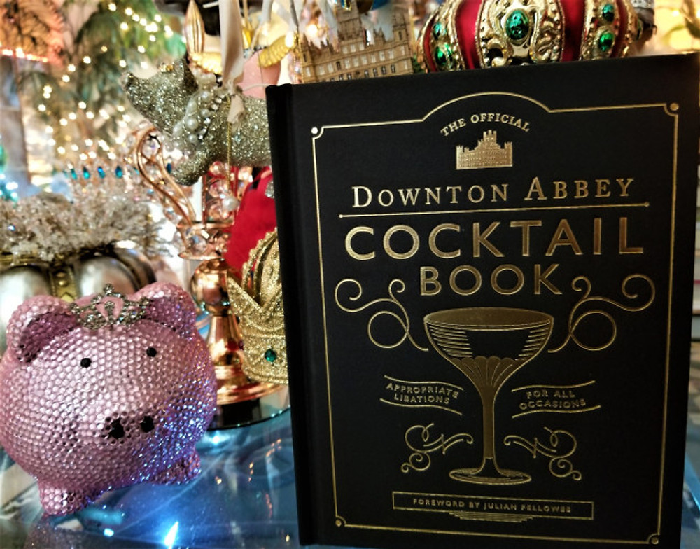 downton abbey cocktail book