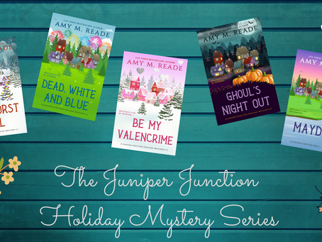 Veronica's #WritersDiary, It's an #IndieApril Wrap with #Holiday Mystery #Author Amy Reade!