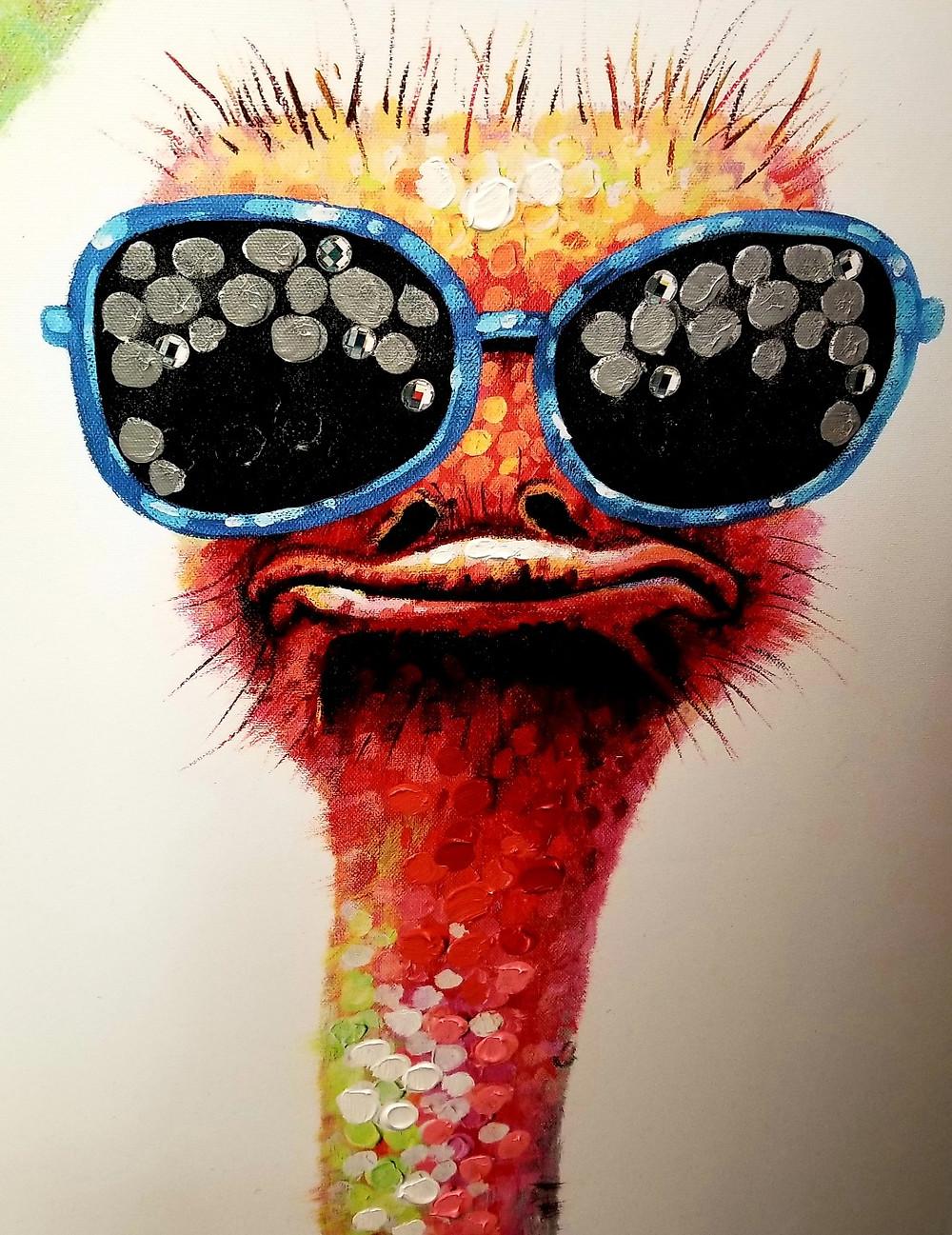 ostrich dude