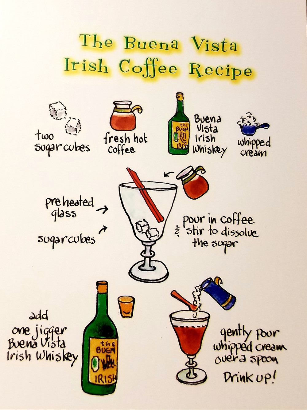 BV irish coffee recipe