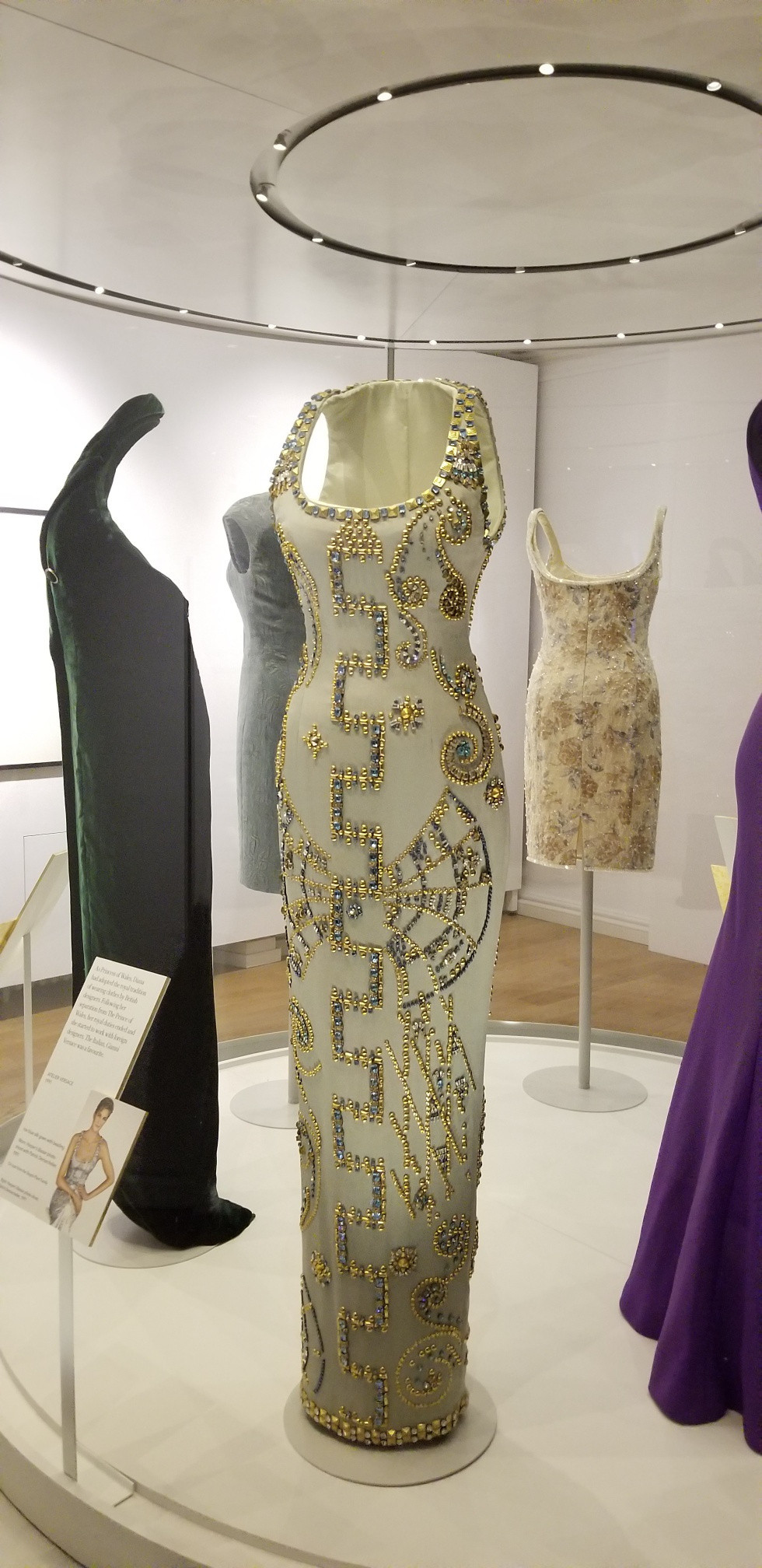 Diana versace dress