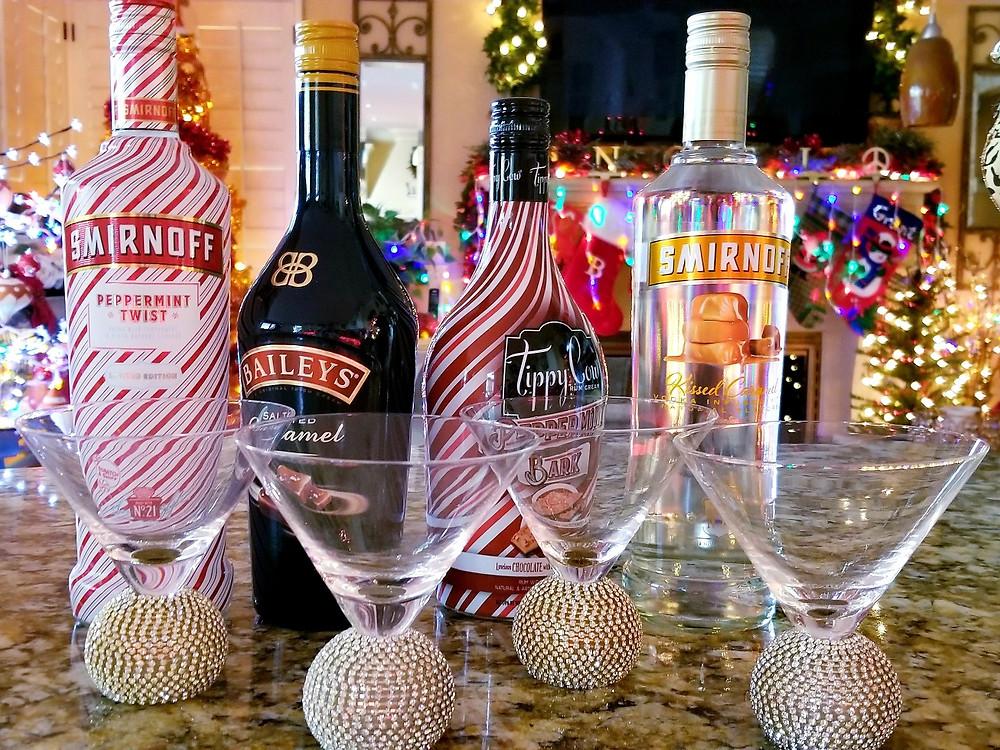 xmas martinis
