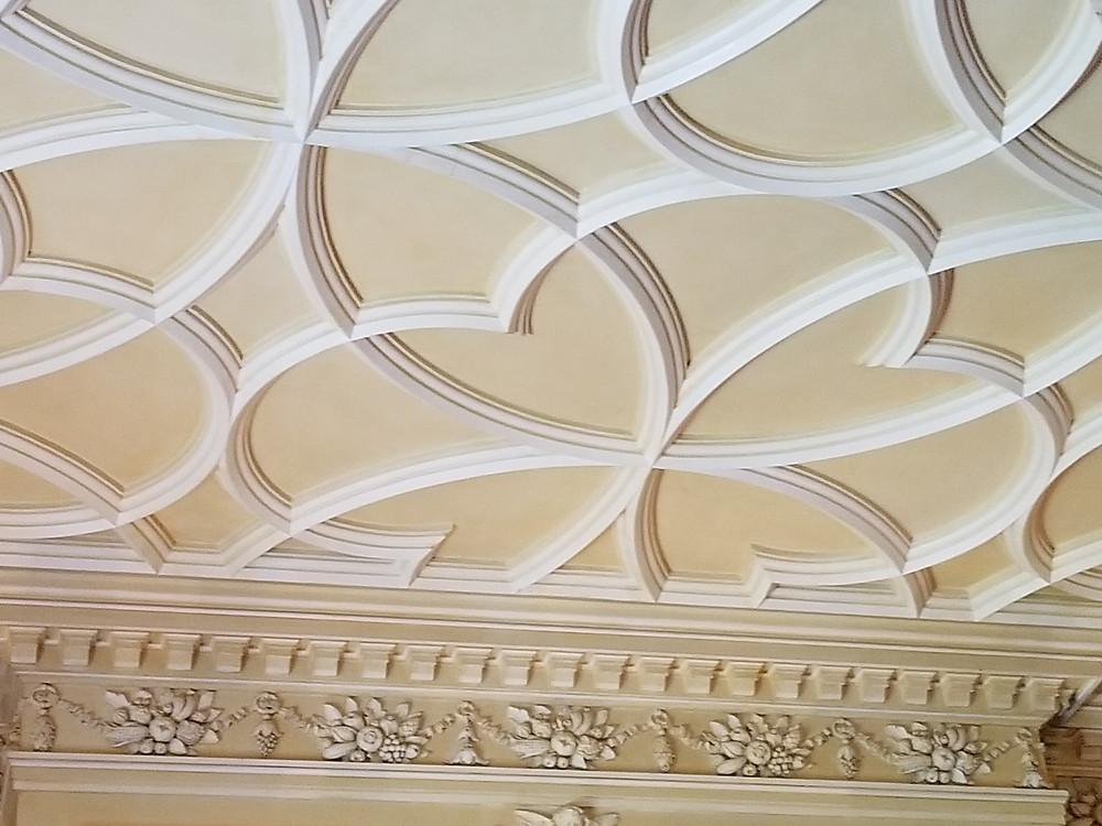 castle decor ceiling