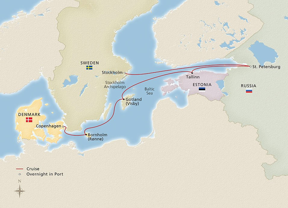 2019_Russia_and_the_Baltic_Sea_956x690_tcm13-101221 Viking Ocean Cruise