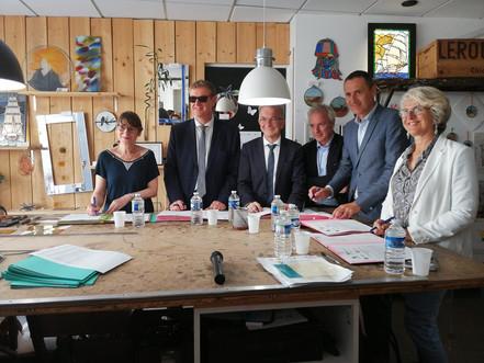 Signature du plan d'action régional (PAR)