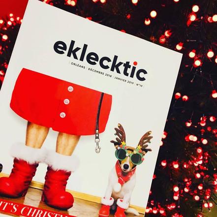 Retrouvez nous dans le nouveau numéro d'Eklecktic