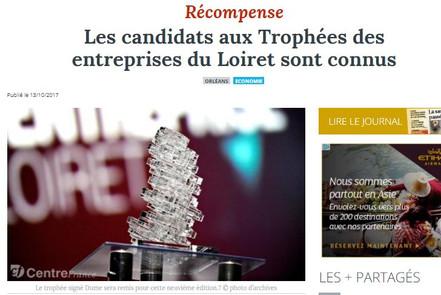 Trophées des entreprises du Loiret