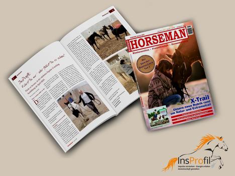 Führst Du nur oder fühlst Du es schon? - Unser Artikel in der Jan. `21 Ausgabe der HORSEMAN
