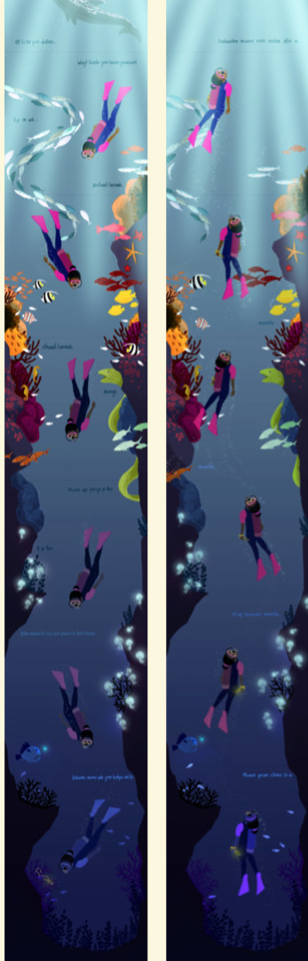 Diving Adventures with Fabiola