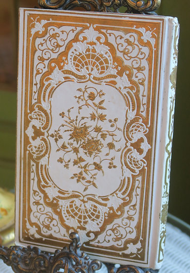 1852 french gilt book 19th c Back