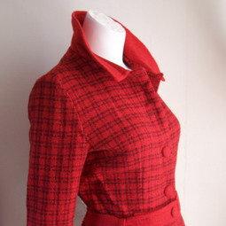 1965 Brentshire Red Tweed Suit Ward Catalogue