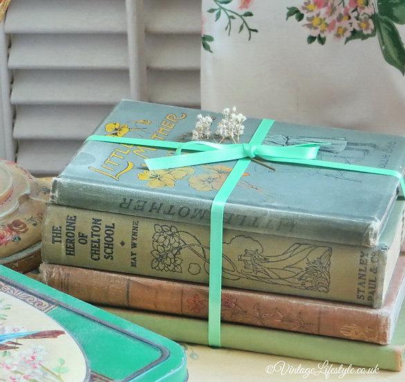 Decorative Vintage Books
