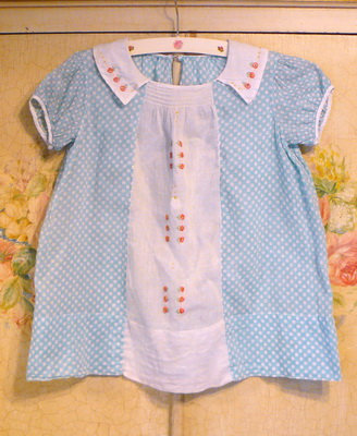 1930's Fine Lawn Vintage Baby Dress