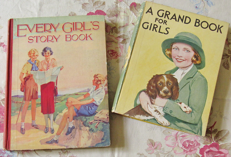 1930's girl's books every Girl's story book