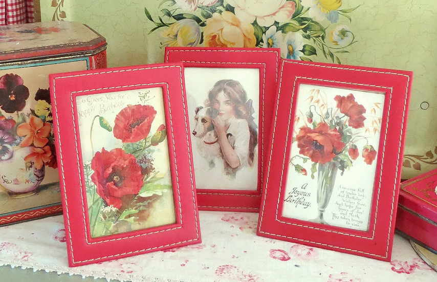 Set of French Photo Frames