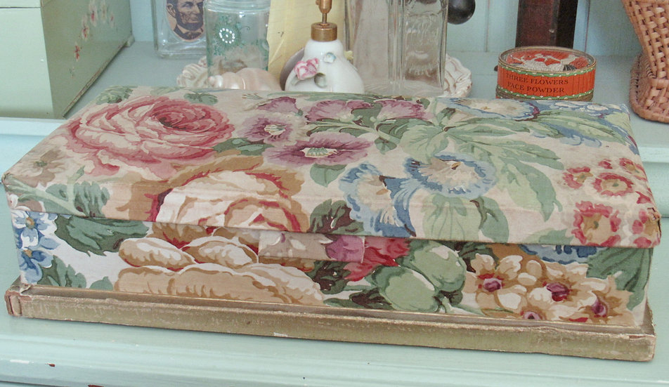 Sanderson Fabric Covered Box