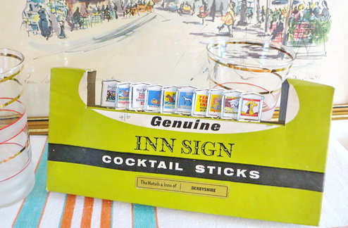 Hotels and Inns Cocktail Sticks (Derbyshire)