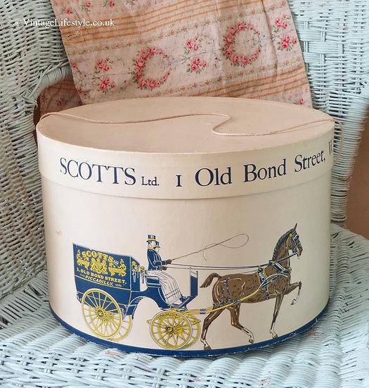 Scotts Old Bond Street Hat Box