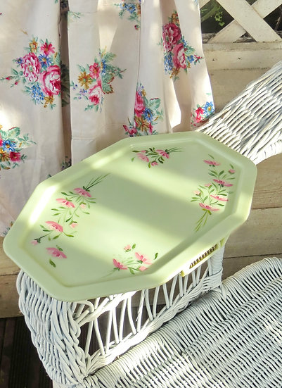 Pale Green Armchair Tray