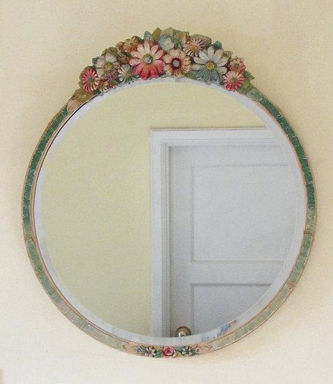 1930's barbola mirror