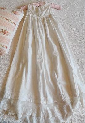 Victorian Baby Petticoat Gown