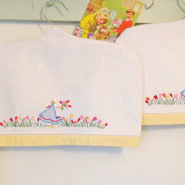 Children's Embroidered Hanger Covers