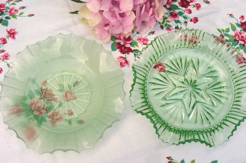 Decorative Glass Serving Dishes