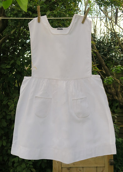 early 20th c girls pinafore